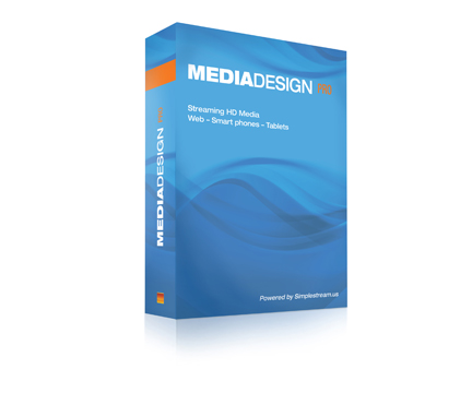 MediaDesign create media channels and monetize your streaming media.