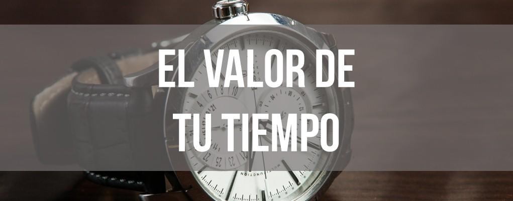 El valor de tu tiempo