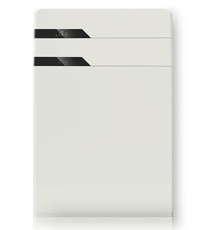 white modern battery for storing solar panels