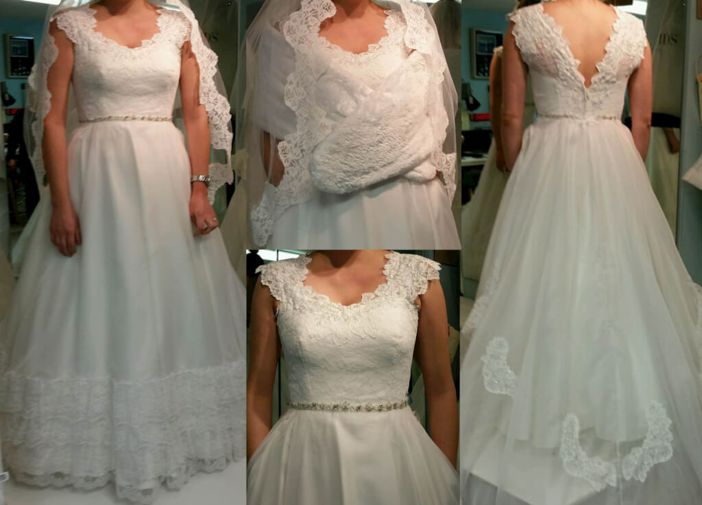 Redesign from Mom's Wedding Dress by JenMar Creations, serving the Twin Cities