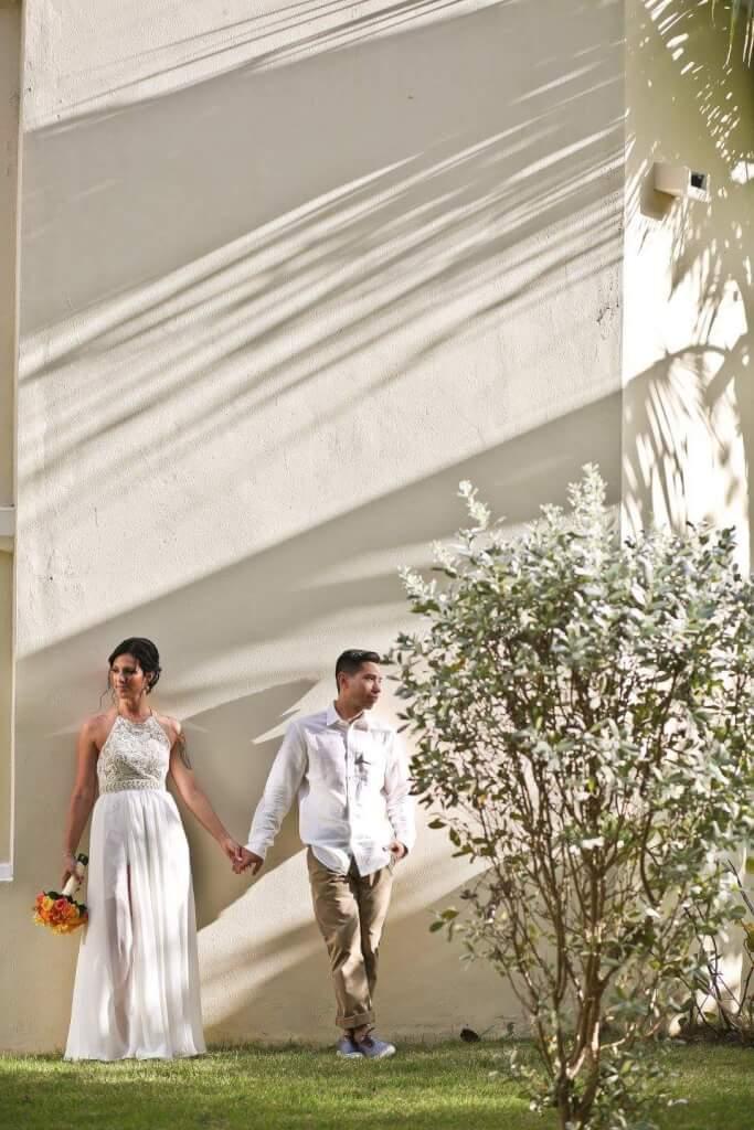 Halter Wedding Dress by JenMar Creations