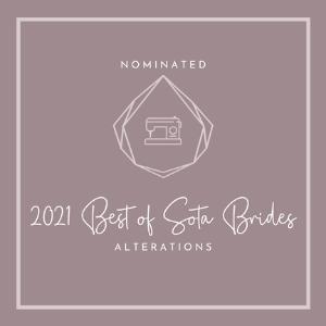 Best of Sota Brides 2021 - Wedding Dress Alterations