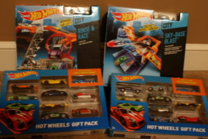 Hot Wheels Track and Cars