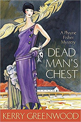 Roaring 20s Phryne in a purple dress, standing along a seashore