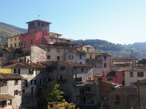 historisch centrum van Loro Ciuffenna