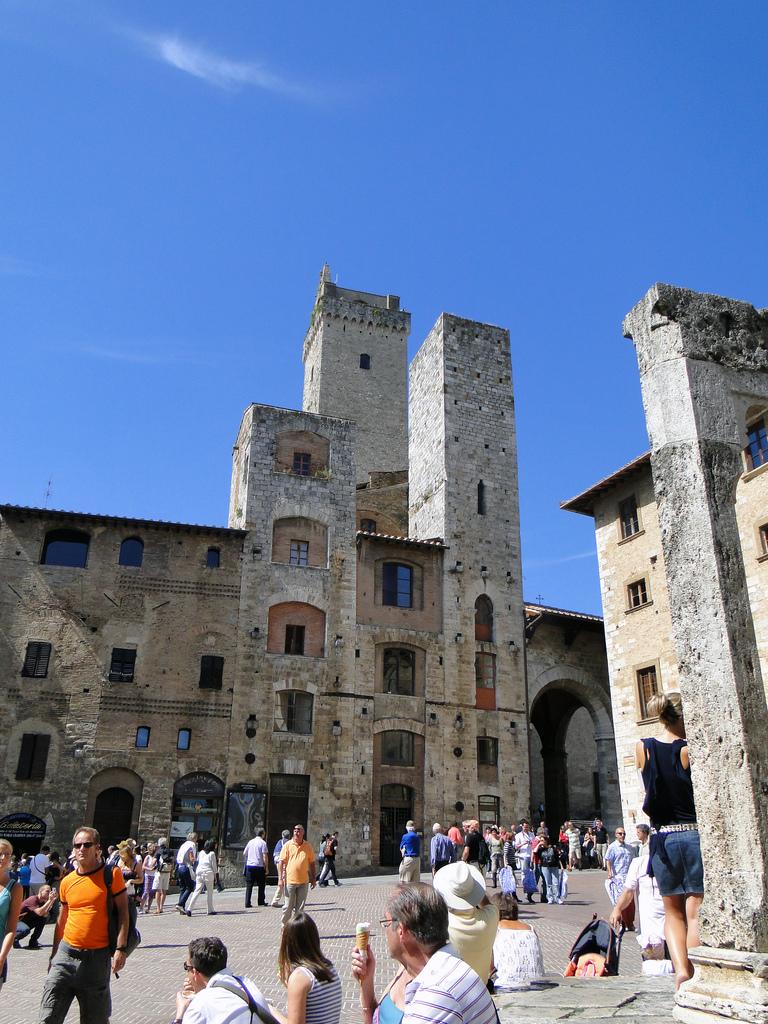 de torens van San Gimignano