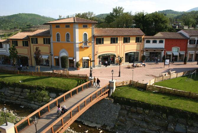 de outlet village in Barberino di Muggello
