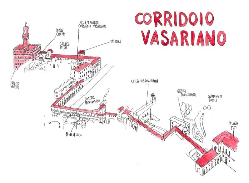 Firenze-corridoio Vasariano