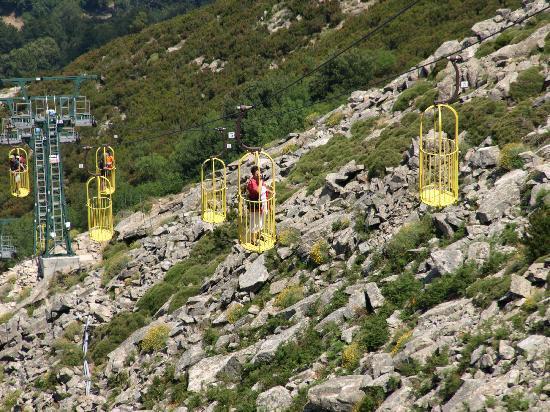 Kabellift naar Monte Capanne