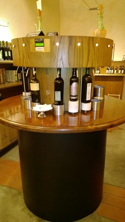 automatische wijndisperser