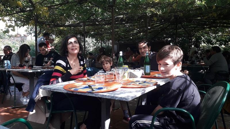 Panzano in Chianti restaurant Oltre il giardino