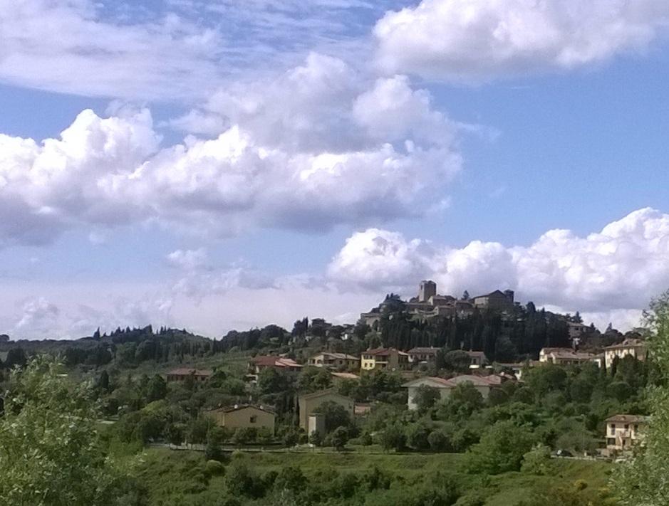 Panzano in Chianti panoramisch