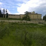Fietstocht tussen Figline Valdarno en Firenze