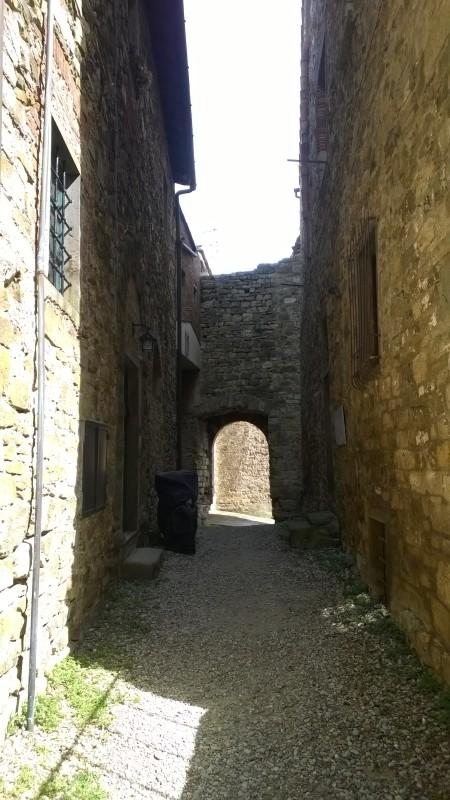 steegje borgo Panzano in Chianti