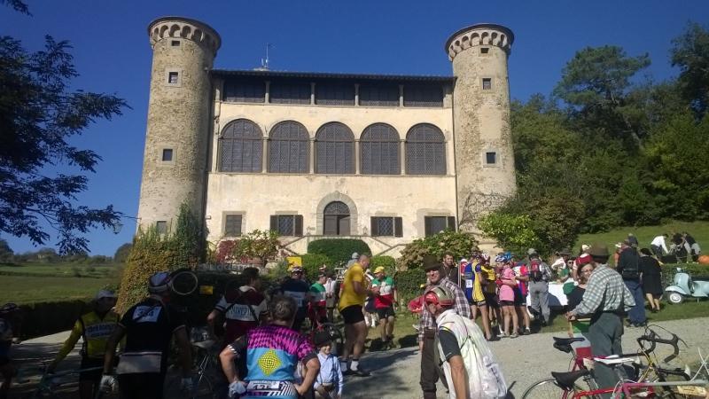 Het kasteel Castello di Galbino