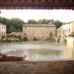 Bagno Vignoni en zijn unieke plein