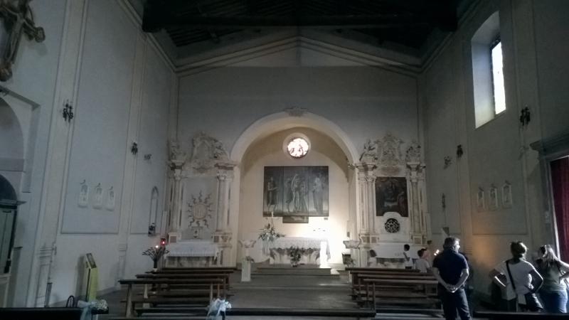 interieur Pieve di San Giovanni Battista