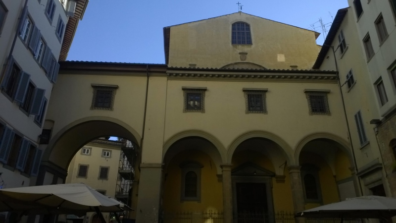Firenze - Borgo San Niccolò - Chiesa Santa Felicità (800x450)