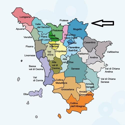 Mugello kaart