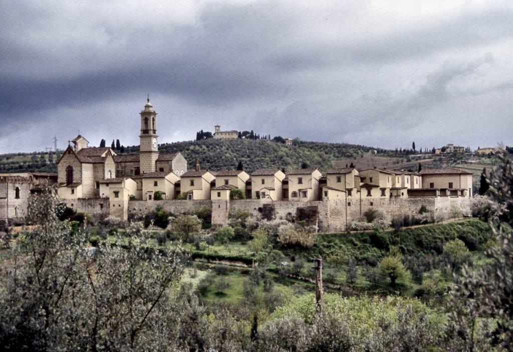 La Certosa in Firenze met de appartementen van de monniken - foto Roberto Tomei