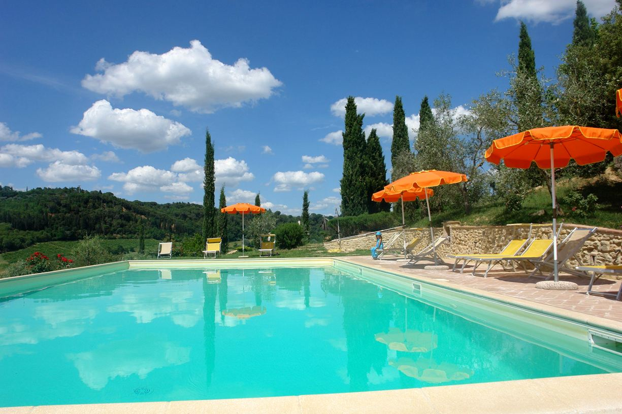 prive zwembad Tenuta Il Tresto