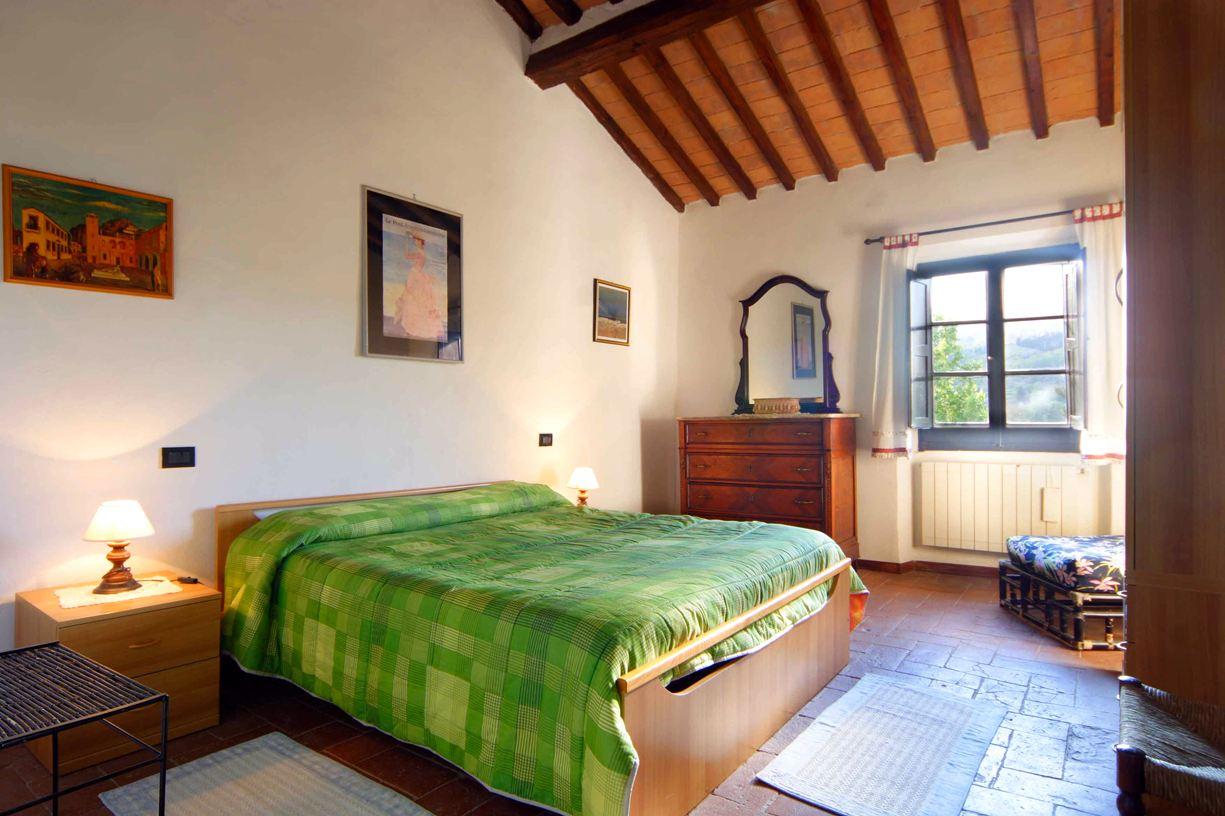 slaapkamer appartement Giaggiolo