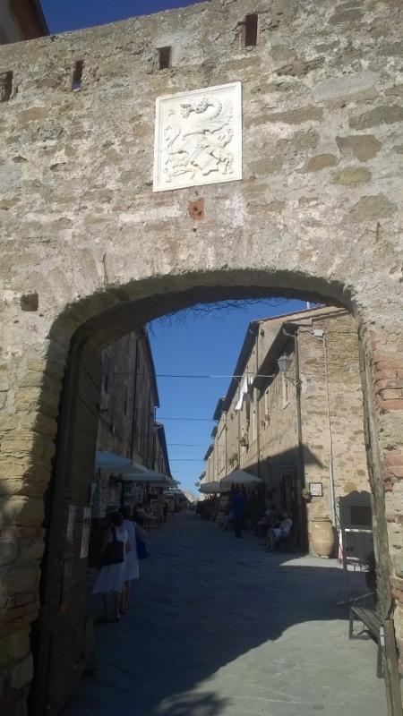 De middeleeuwse toegangspoort