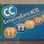 Goedkoop kamperen dankzij de CampingCard ACSI kortingskaart