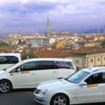 Een taxi nemen in Toscane