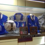 Het nationale voetbalmuseum in Firenze