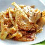 Finocchio al parmigiano (venkel met parmezaanse kaas)