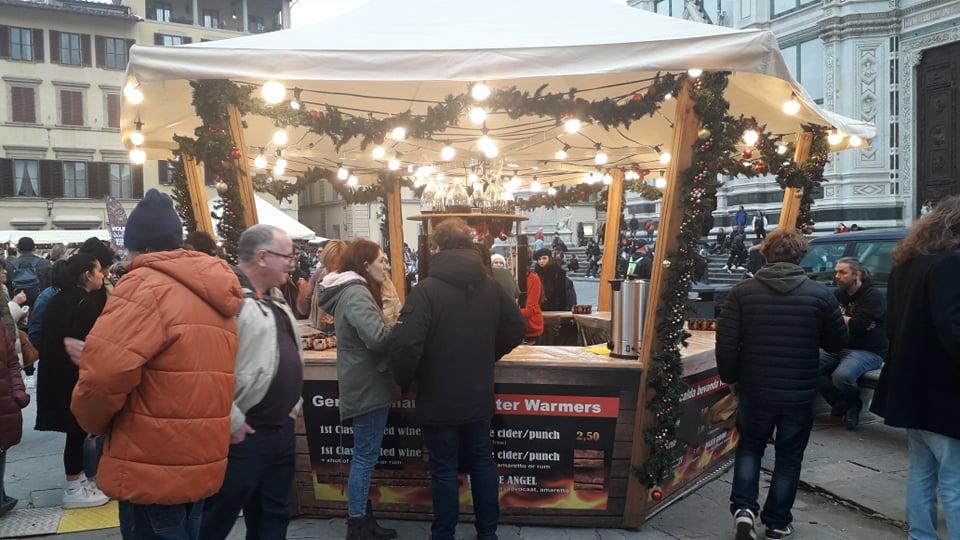 Vakantie Toscane-kerstmarkt Firenze