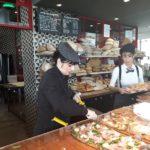 Heerlijke pizza bij Menchetti