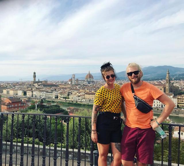 reizigers Toscane Florence