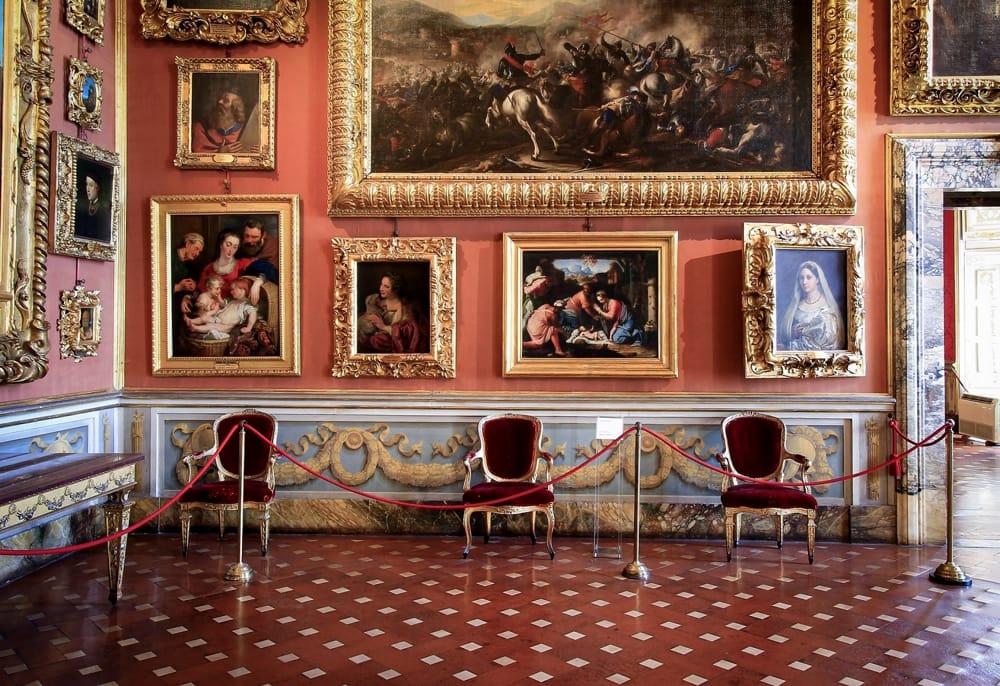 Rubens zaal Palazzo Pitti Firenze