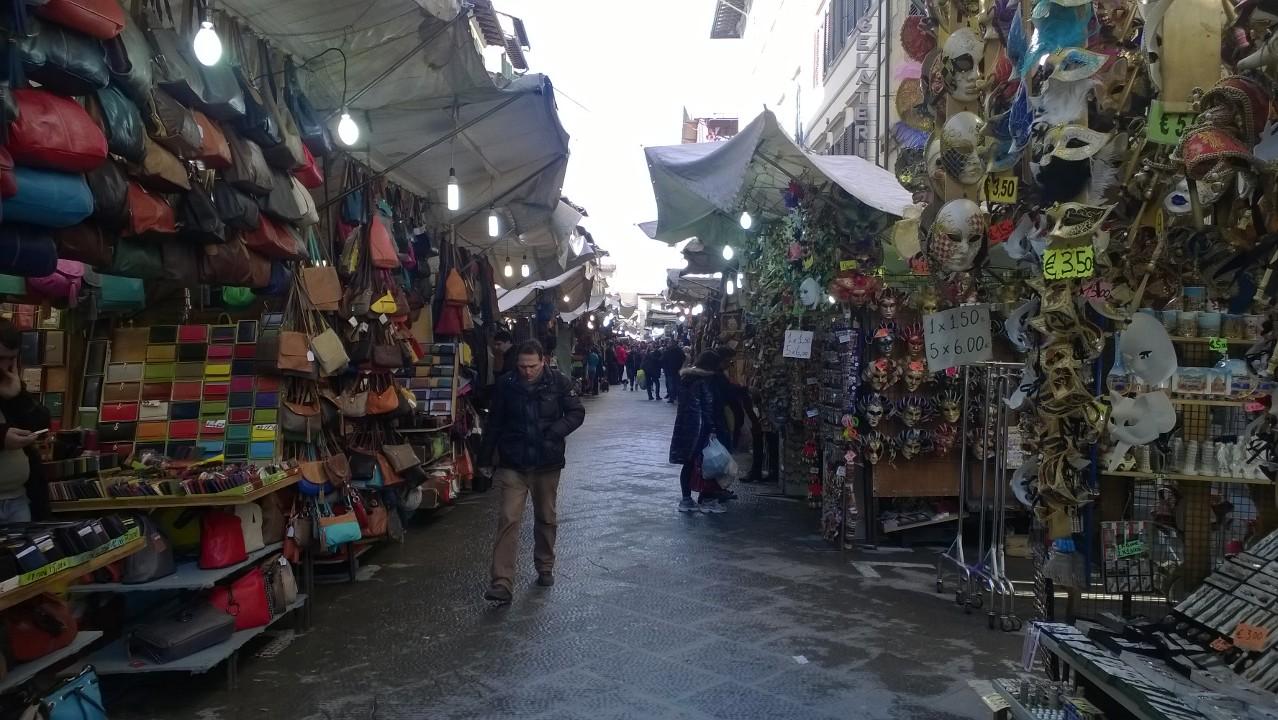 markt San Lorenzo Florence