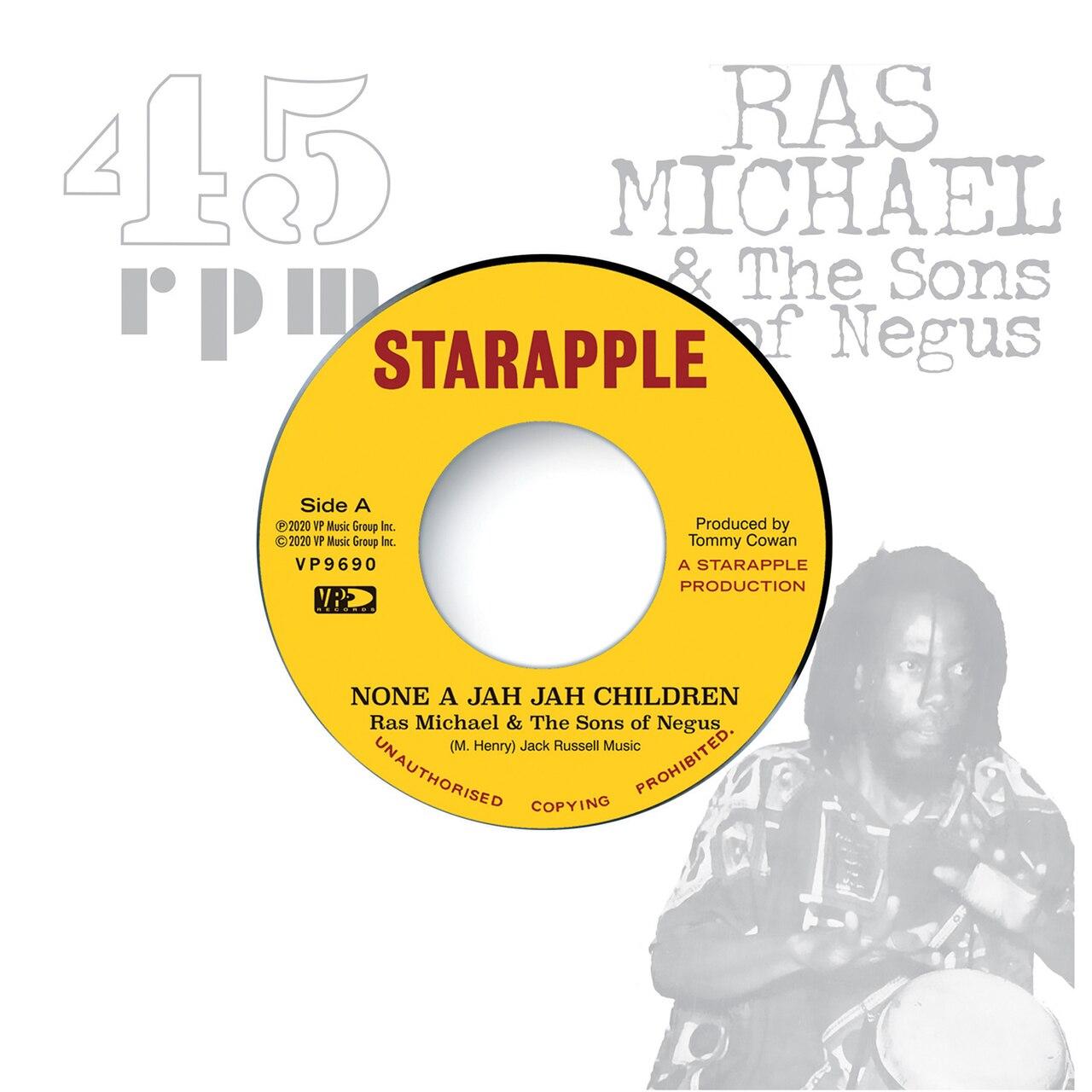 None A Jah Jah Children (7″ Vinyl)