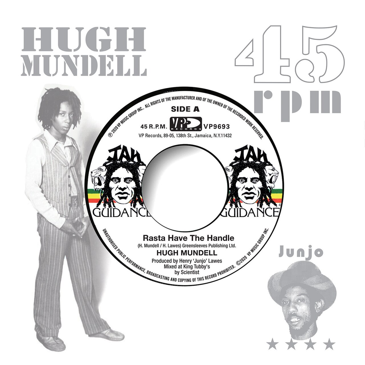 Rasta Hold The Handle (7″ Vinyl)