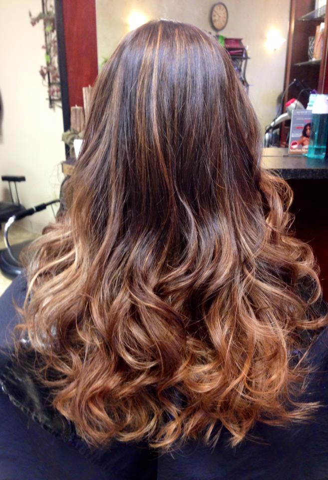 Hair Style at Billings Salon The Ritzz