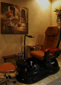 pedicure massage chair