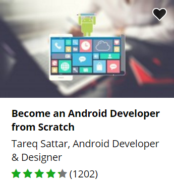 Udemy free Android development course.