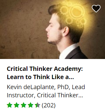 Udemy free critical thinking course.