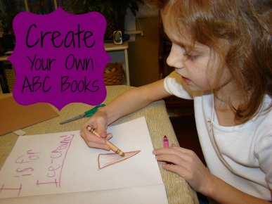 Create Your Own ABC Books