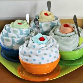 Ice Cream Sundae Baby Shower Gift