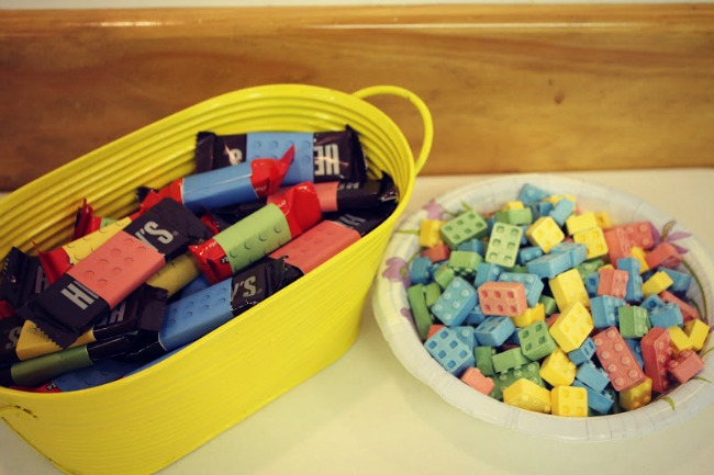 LEGO Party Candy