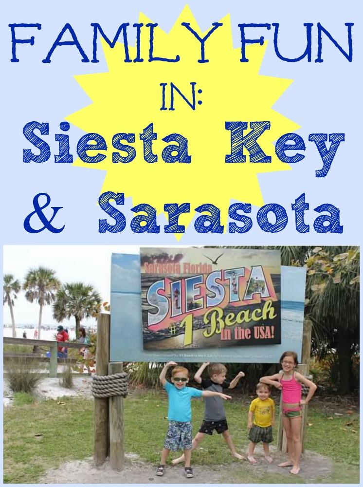 Family Fun in Siesta Key Sarasota