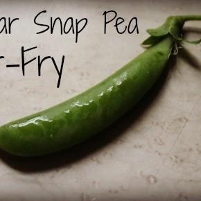 Sugar Snap Pea Stir-Fry Recipe