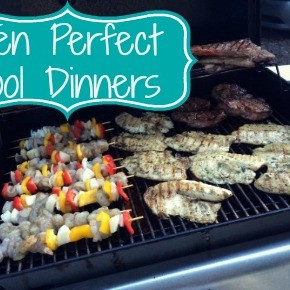 Ten Perfect Pool Dinners