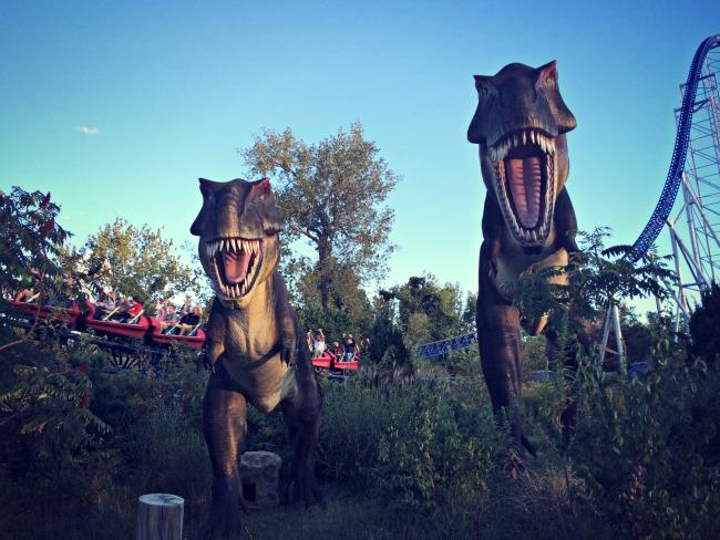 Cedar Point Dinosaurs2