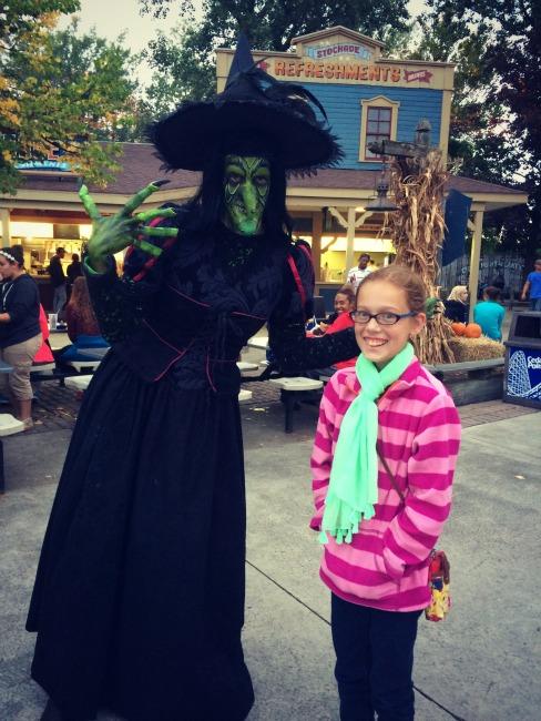 Cedar Point Witch